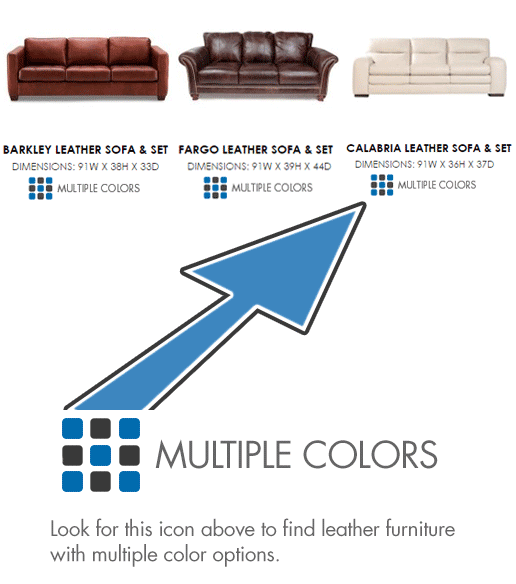Examples of color option icon