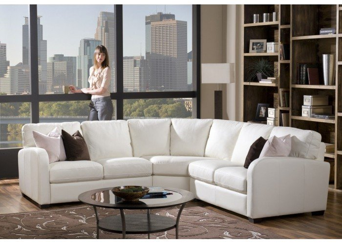 Eastend Leather Sectional