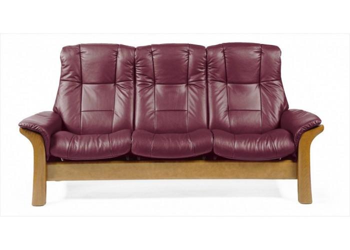 Stressless Windsor High Back Leather Sofa Amp Set