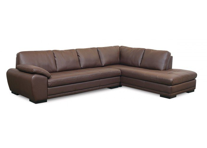 Boca Leather Sectional