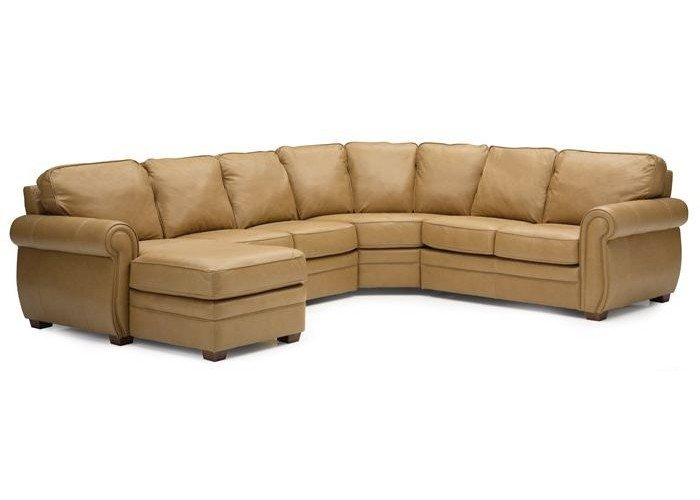 Robroy Leather Sectional