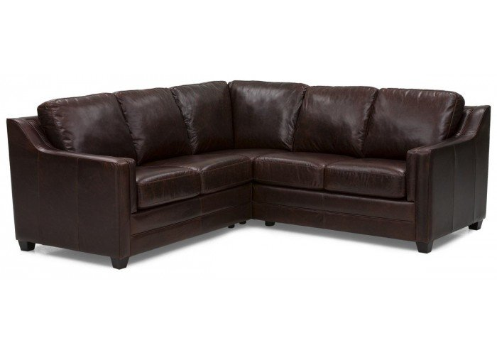 Avery Leather Sectional