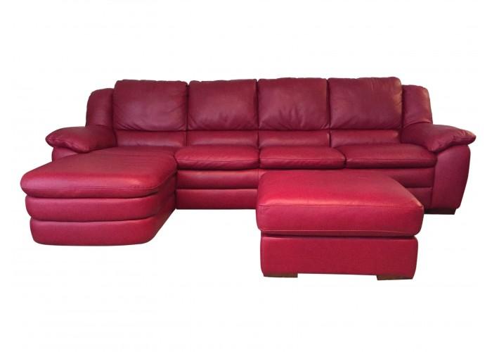 Natuzzi Editions A450 Prudenza Leather Sectional
