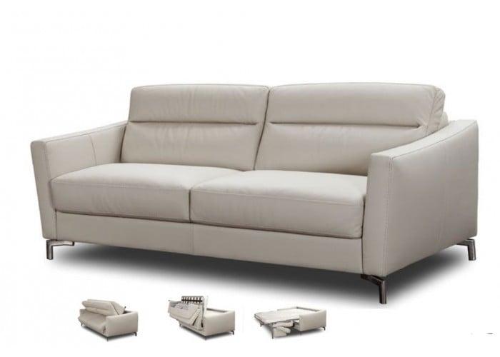 Incanto I712 Leather Queen Sleeper Sofa
