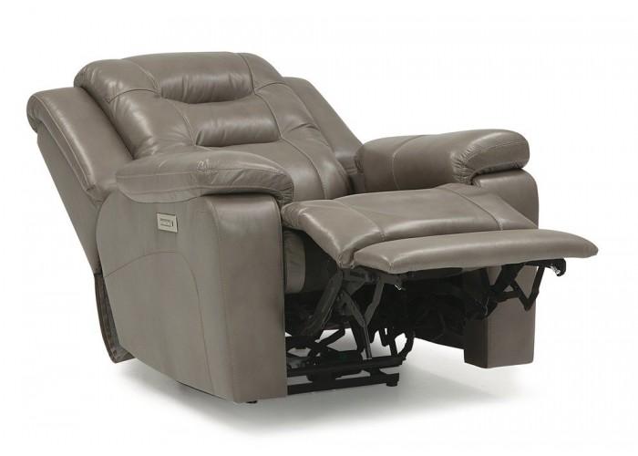 Leland Leather Reclining Sofa Amp Set