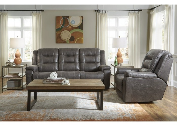Leland Leather Reclining Sofa Amp Set