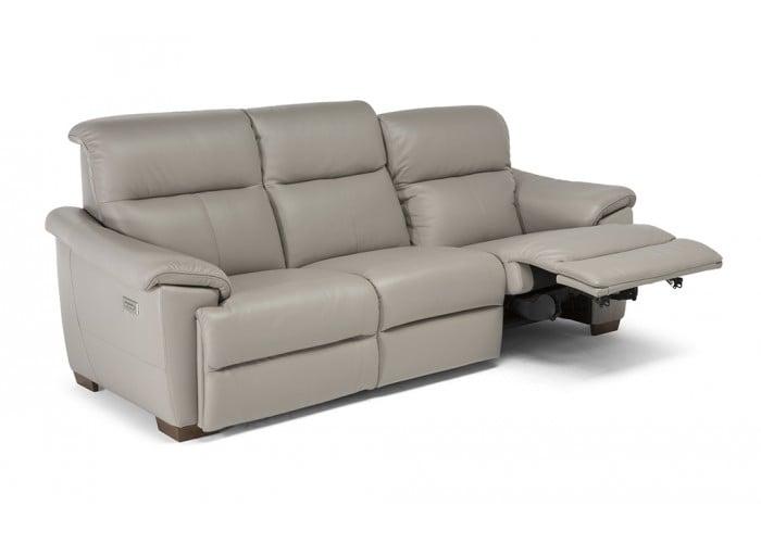 Natuzzi Editions C063 Potenza Reclining Leather Sofa