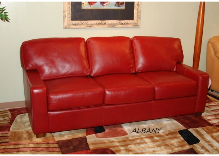 Omnia Albany Leather Sectional