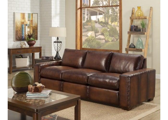 Alta Leather Sofa Amp Set