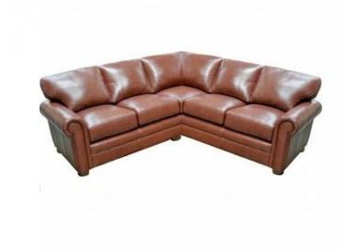 Apex Leather Sectional
