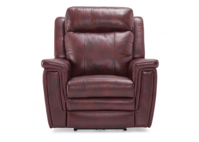 Ashley Leather Power Reclining Sofa Amp Set With Adjustable