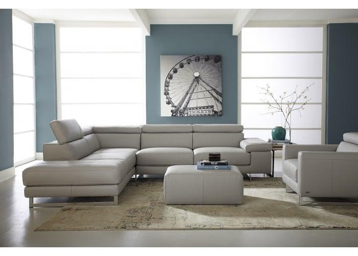 Natuzzi Editions B619 Saggezza Leather Sectional