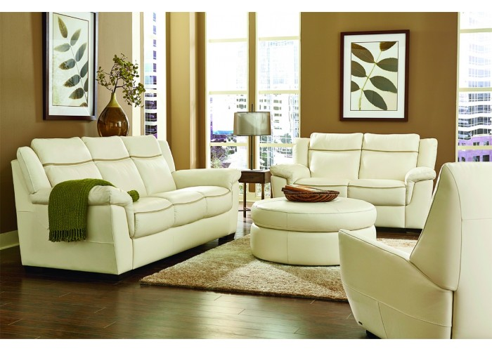 Natuzzi Editions B865 Leather Sofa Amp Set