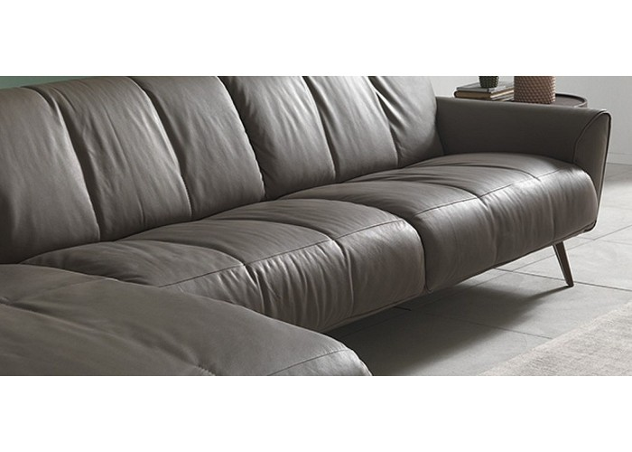 Natuzzi Editions B993 Talento Leather Sofa Amp Set