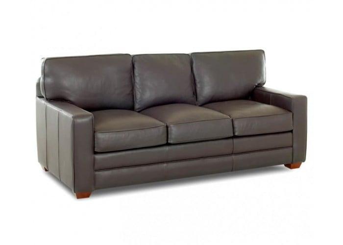 Milford Leather Sofa Set