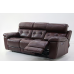 Crocus Leather Power Reclining Sofa With Power Adjustable Headrest