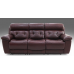 Crocus Leather Power Reclining Sofa With Power Adjustable Headrest