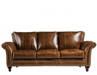 Cabriolet Traditional Leather Sofa or Set