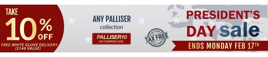 Palliser Leather Sectional