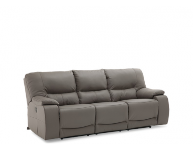 Conlin Leather Reclining Sofa & Set