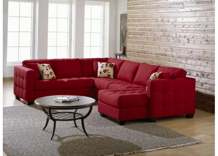 Barkley Leather Sectional