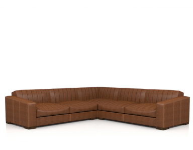 Kingston Leather Sectional
