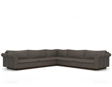 Korakia Leather Sectional