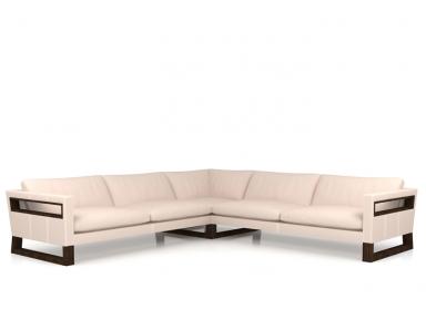 Leftbank Leather Sectional