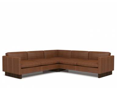 Nathaniel Leather Sectional