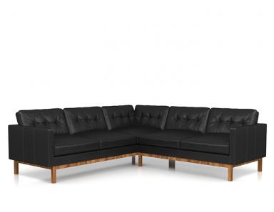 Ziggy Leather Sectional