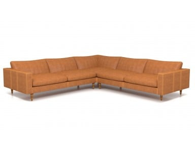 Smart Leather Sectional