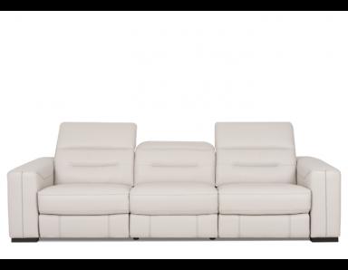 Eckley Power Reclining Sofa With Power Adjustable Headrest