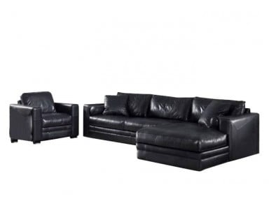 Groovy Atlanta Leather Sectional Home Interior And Landscaping Oversignezvosmurscom