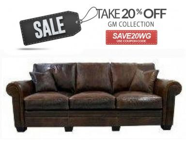 Emeryville Leather Sofa & Set