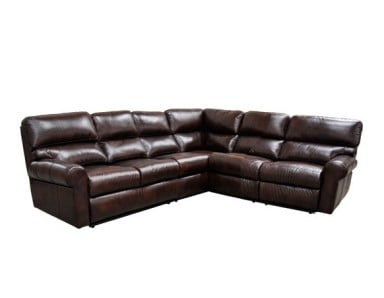Haven Reclining Leather Sectional