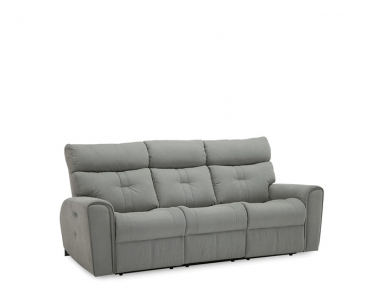 McGrath Power Reclining Leather Sofa or Set - Available With Power Tilt Headrest | Power Lumbar