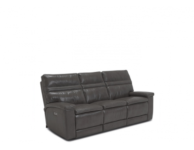 Toledo Power Reclining Leather Sofa or Set - Available With Power Tilt Headrest | Power Lumbar