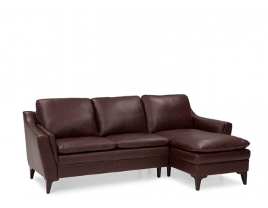 Silvia Leather Sectional