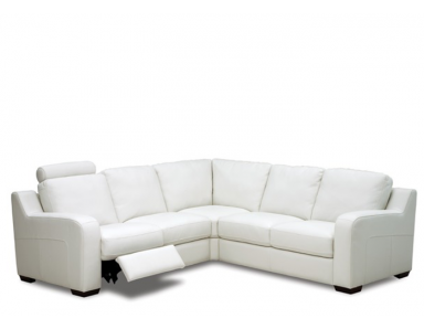 Salento Power Reclining Leather Sectional