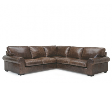 Jessica Leather Sectional