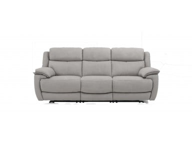 Fraser Power Reclining Leather Sofa or Set With Power Tilt Headrest