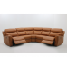 Kestrel Leather Power Reclining Sectional