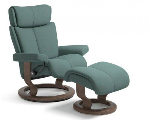 (Medium) Stressless Chair And Ottoman (Classic Base)