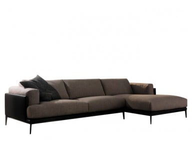 CHATEAU DAX Edo Leather Sectional