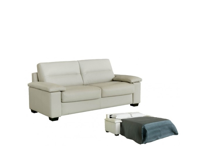 Gulio Leather Sleeper Sofa & Set