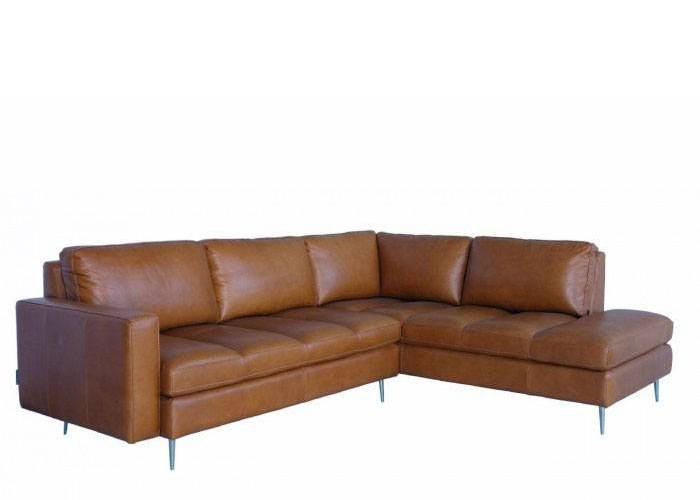 Roma Leather Sectional