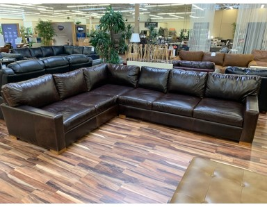 New Floor Model Napa Sectional Take 50% Off
