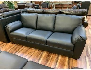 New Laramey Leather Sofa Take 50% Off