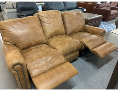 Brand New Fantasy Reclining Sofa Take 50% Off