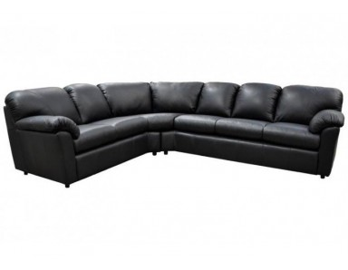 Brand New Clinton Leather Sectional Take 50% Off